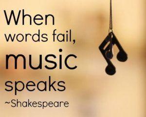 William Shakespeare Quotes on Music