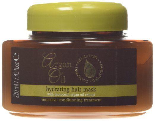 Argan Oil, Maschera nutriente per capelli, trattamento intensivo, 220 ml