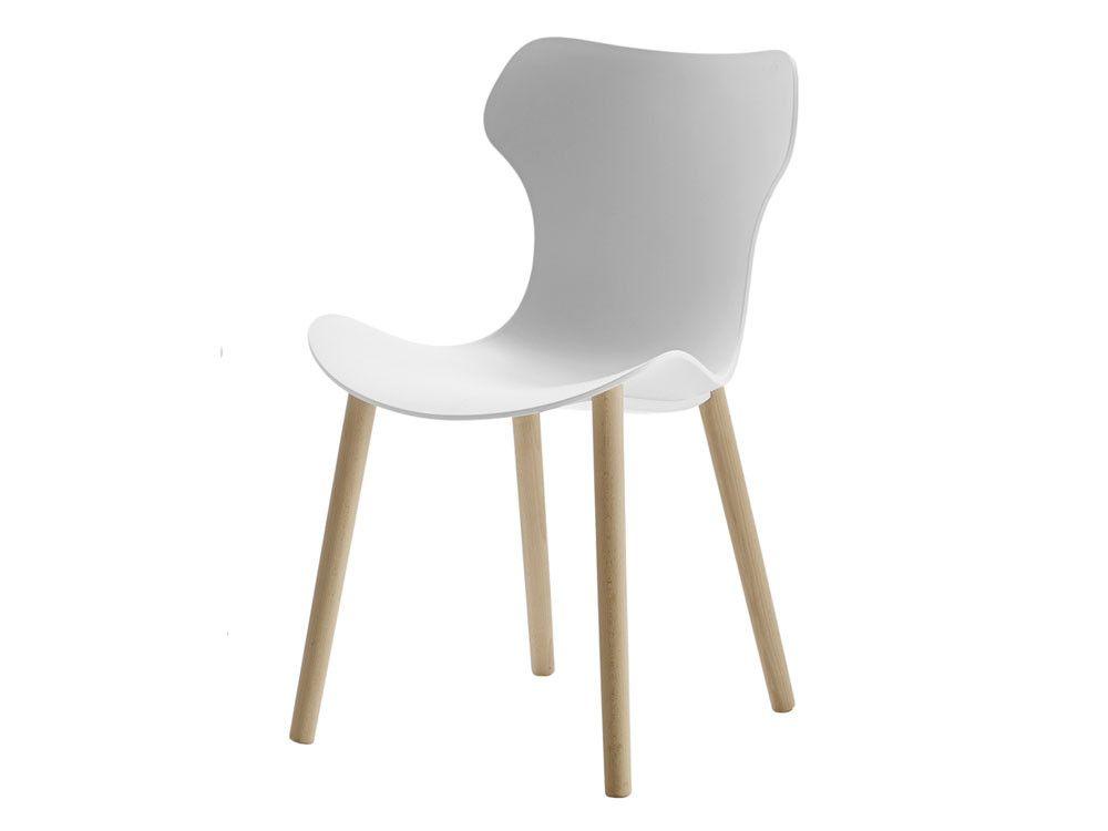 Papilio Shell Dining Chair Oak Legs Oak Dining Chairs Italian