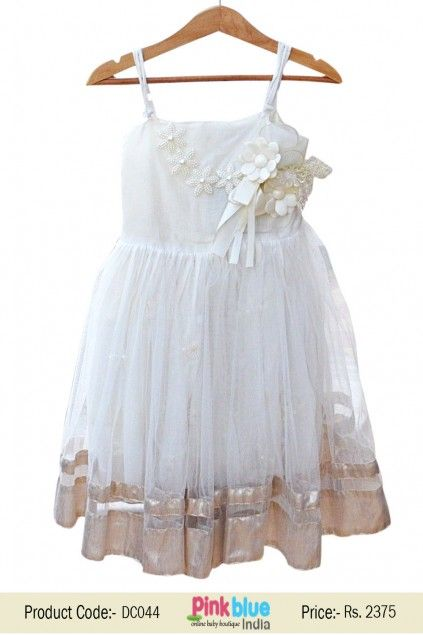 Wedding dress indian white babies