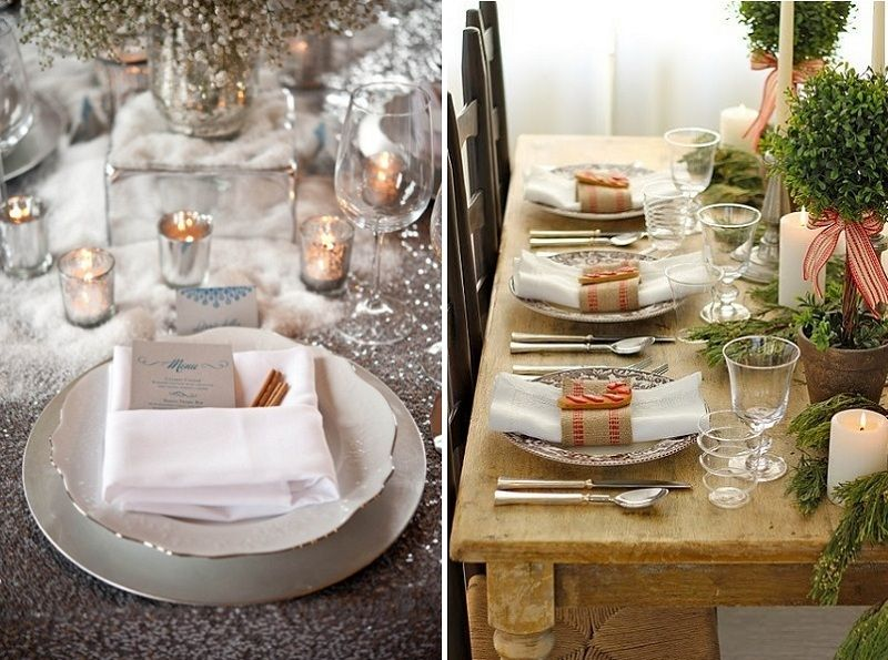Incroyable Christmas Table Decoration Ideas, Image Sources Stylemepretty.com U0026  Pinterest.com/perfectpalette