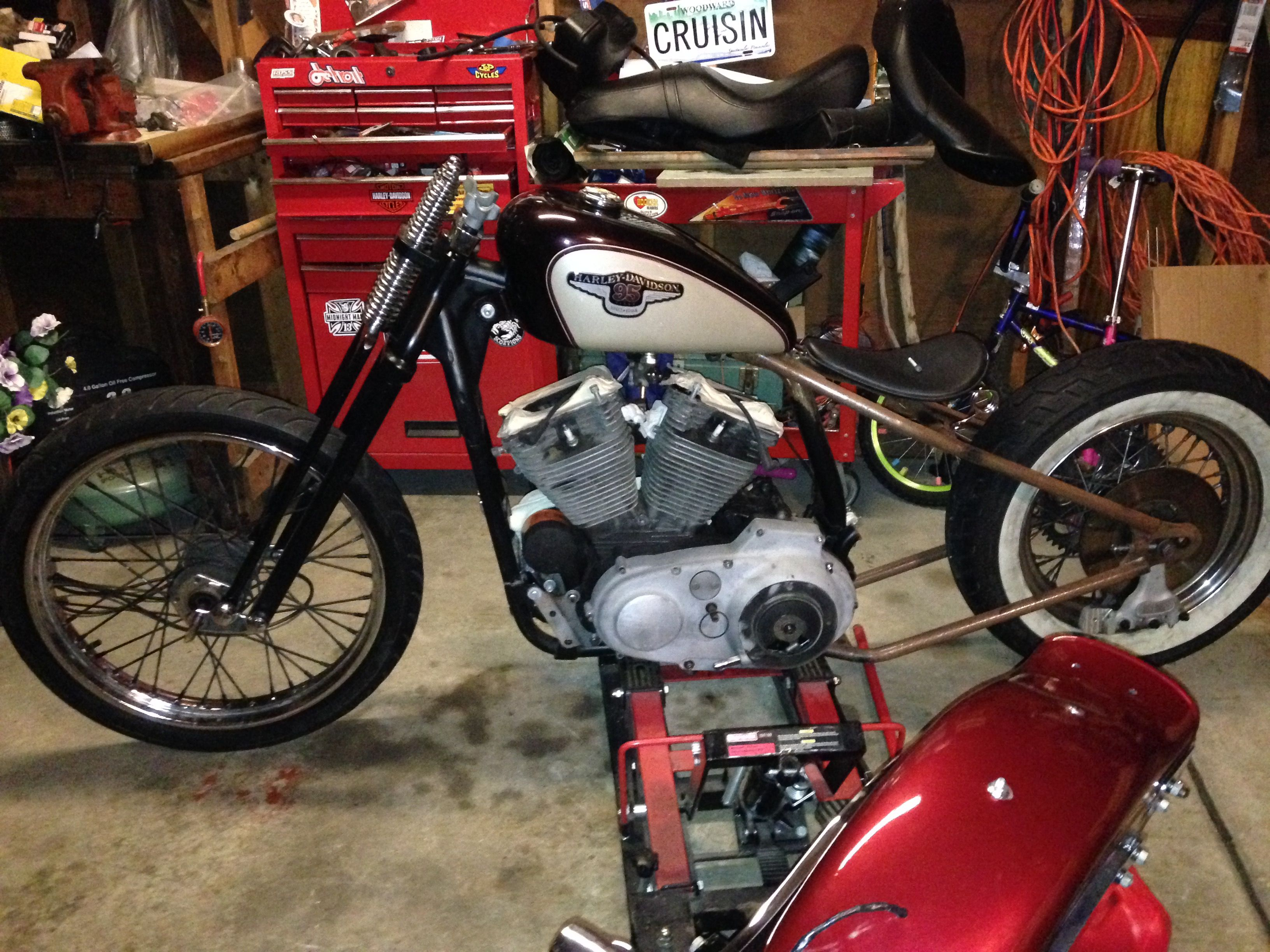 4d162ad78e56 Evo Sportster Hardtail Sportster Chopper, Hd Sportster, Harley Davidson  Motorcycles, Cars Motorcycles,