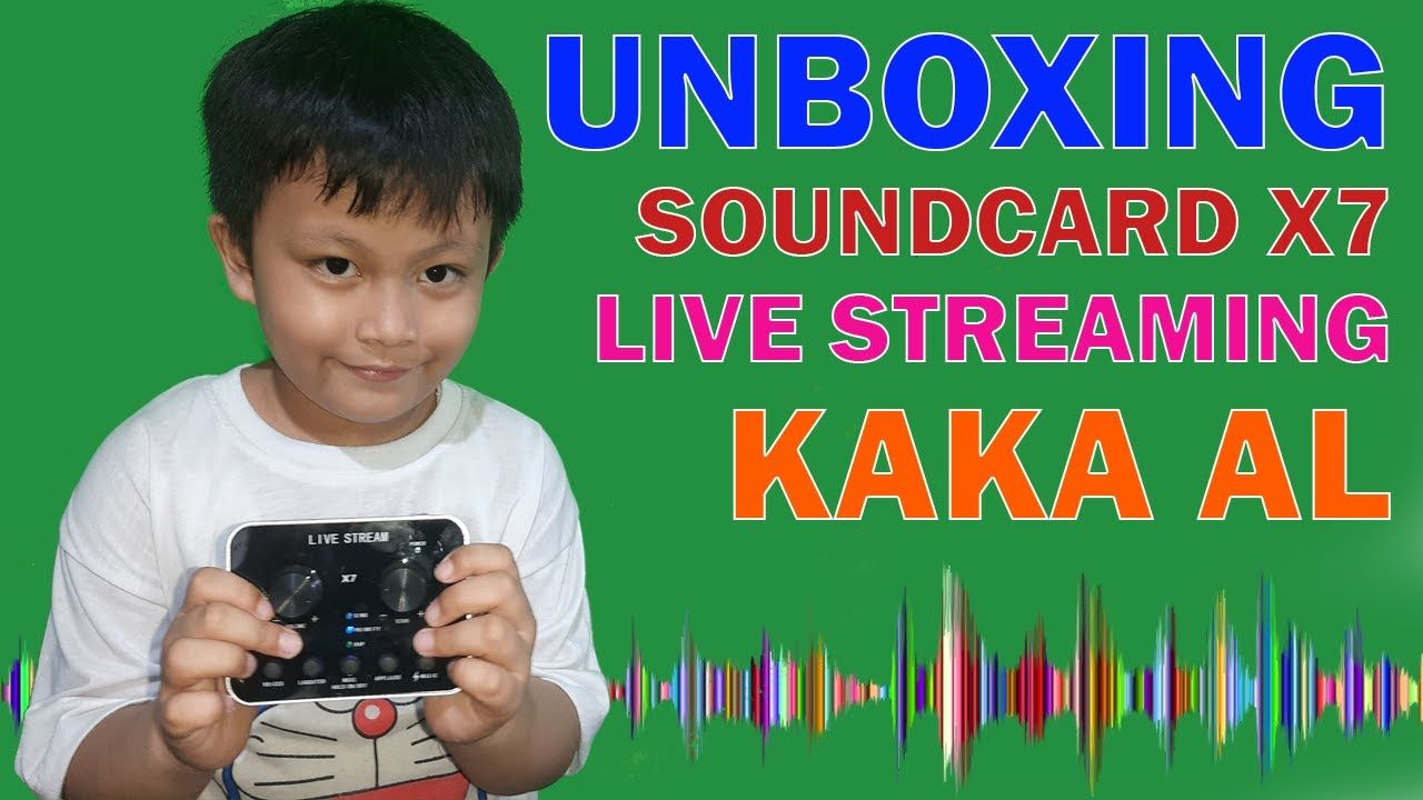 Unboxing Live Soundcard X7 Audio Mixer Kaka Al Di 2020 Mixer Youtube Audio
