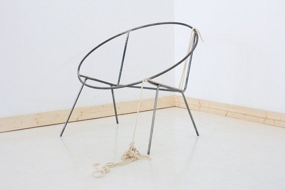 Welded Steel Frame Hoop Circle Chair Frame By SonadoraStudio