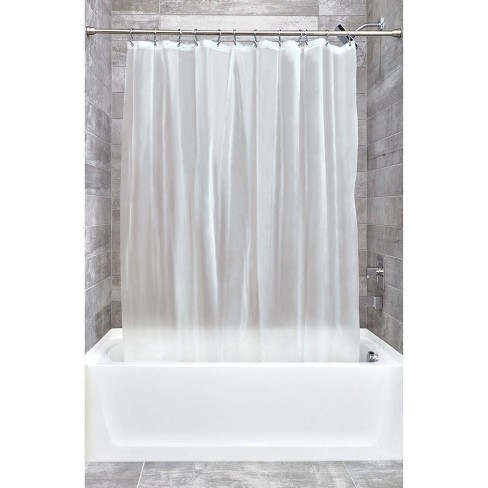 Set Of 2 Eva Shower Curtain Liners Frost Idesign Target 16 99
