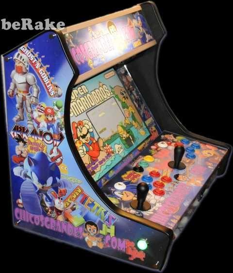 "Mas información en: vep2013.berake.com: Vendo Recreativa arcade tipo ""bartop"". con cpu intel core2 duo, hd 160gb, monitor panorámico 19"". frontend hyperspin. emuladores ""mame"", ""daphe"", jukebox, cinema theather...."