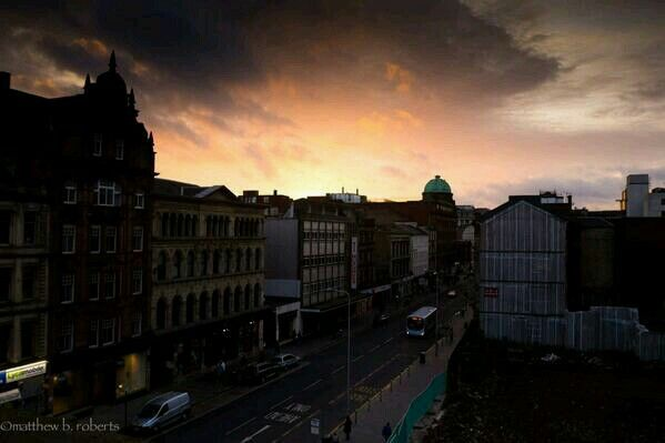 #63 Sunrise in Glasgow. 02/10/14