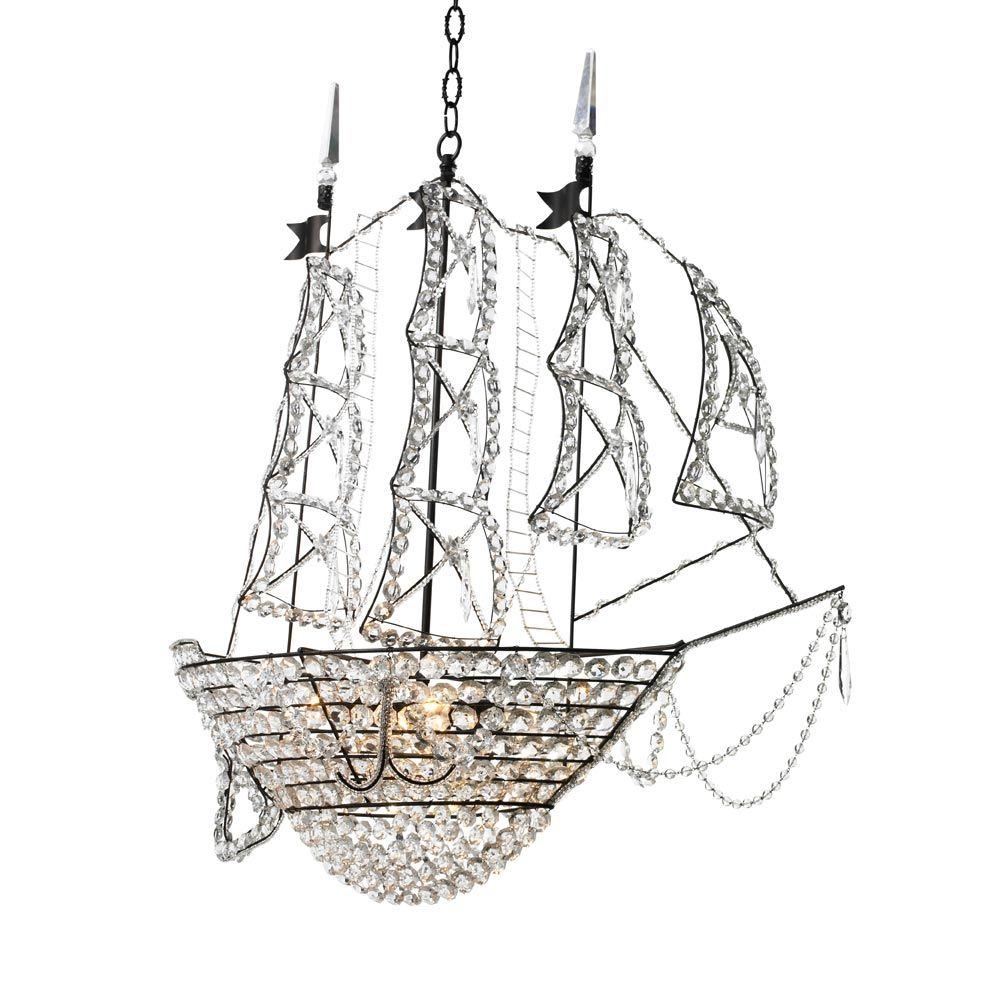 Canopy Designs Ship Chandelier