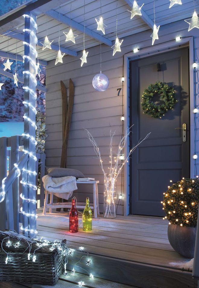 Deco De Noel Exterieur 20 Idees Lumineuses Pour Le Jardin Et La Facade Deco Noel Exterieur Decoration Noel Exterieur Deco Noel Maison
