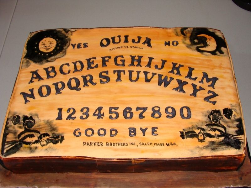 Ouija Board Cake Must Keep In Mind When I Get My Image Printing System