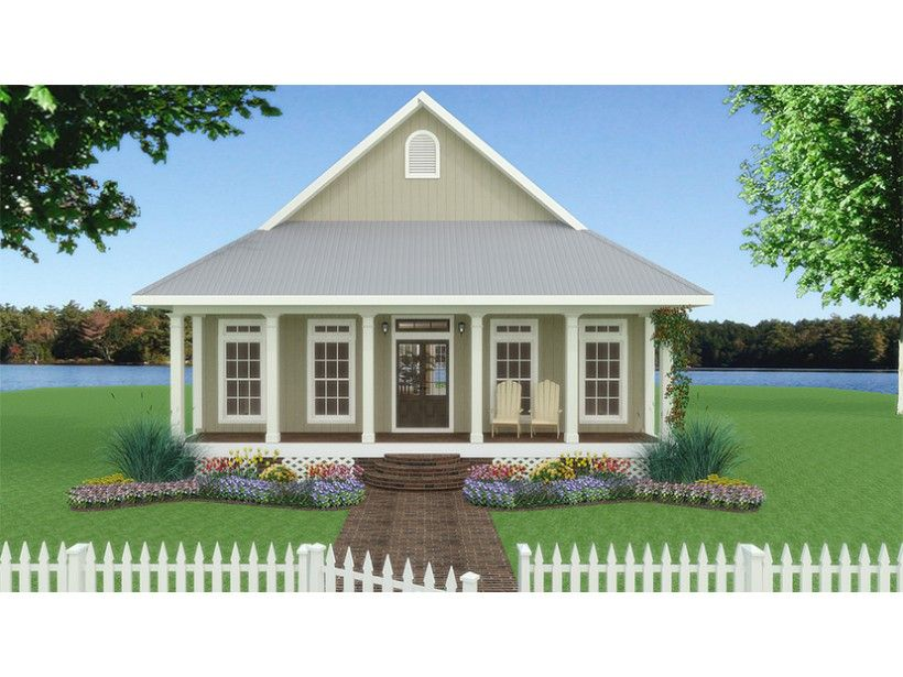 Home Plan HOMEPW07962 is a gorgeous 1292 sq ft, 1 story, 2 bedroom