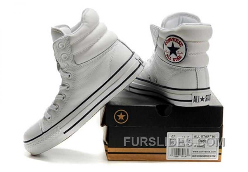 White Embroidery CONVERSE Padded Collar Chuck Taylor All