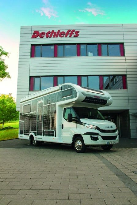 Dethleffs Experiments With All Electric Solar Backed Motorhome