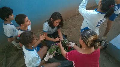 Blog do Inayá: #inayasustentavel - Professora Eliane Raimundo empolga alunos com trabalho na semana do Meio Ambiente