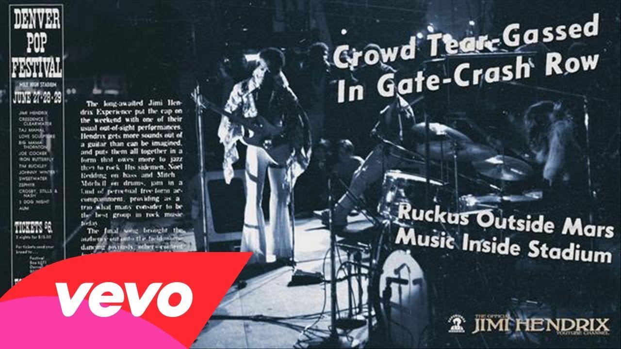 Jimi Hendrix - Hear My Train A Comin' (Denver Pop 1969)