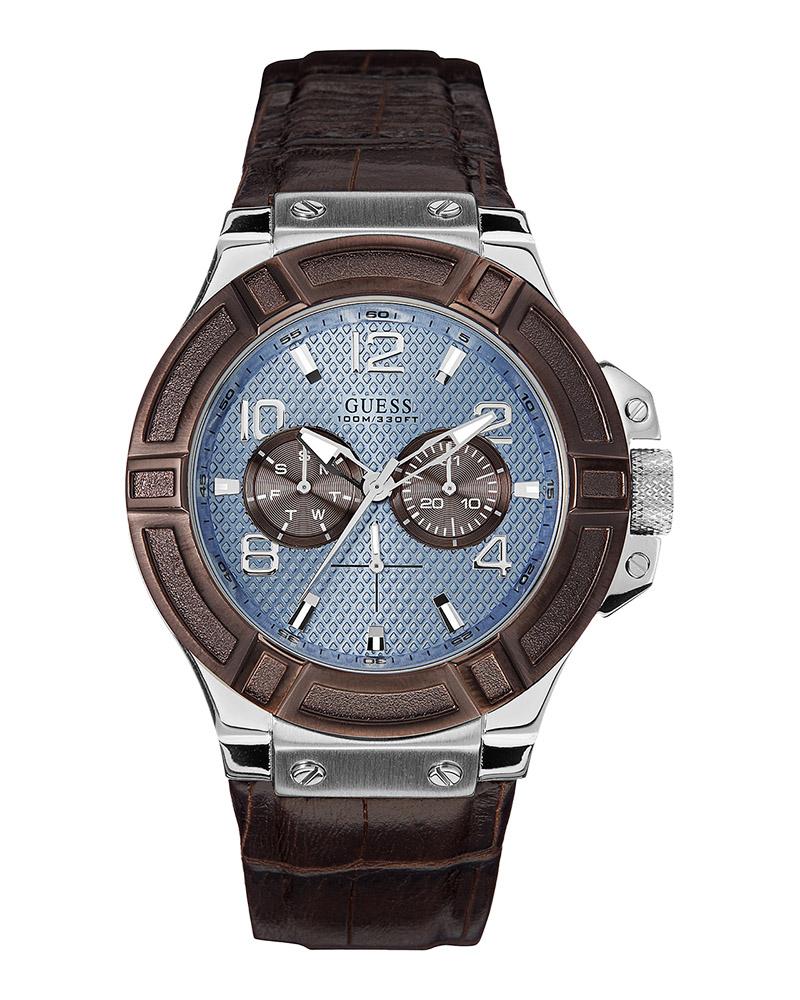 Ρολόι Guess Rigor Chronograph W0040G10