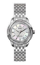 Bulova Precisionist Brightwater Mother-of-pearl Dial Women's watch #96R153