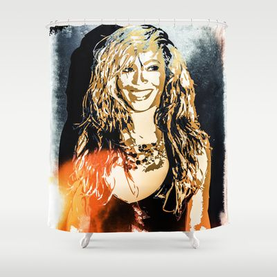Shower Curtain With Beyonce ShowerCurtain Home House