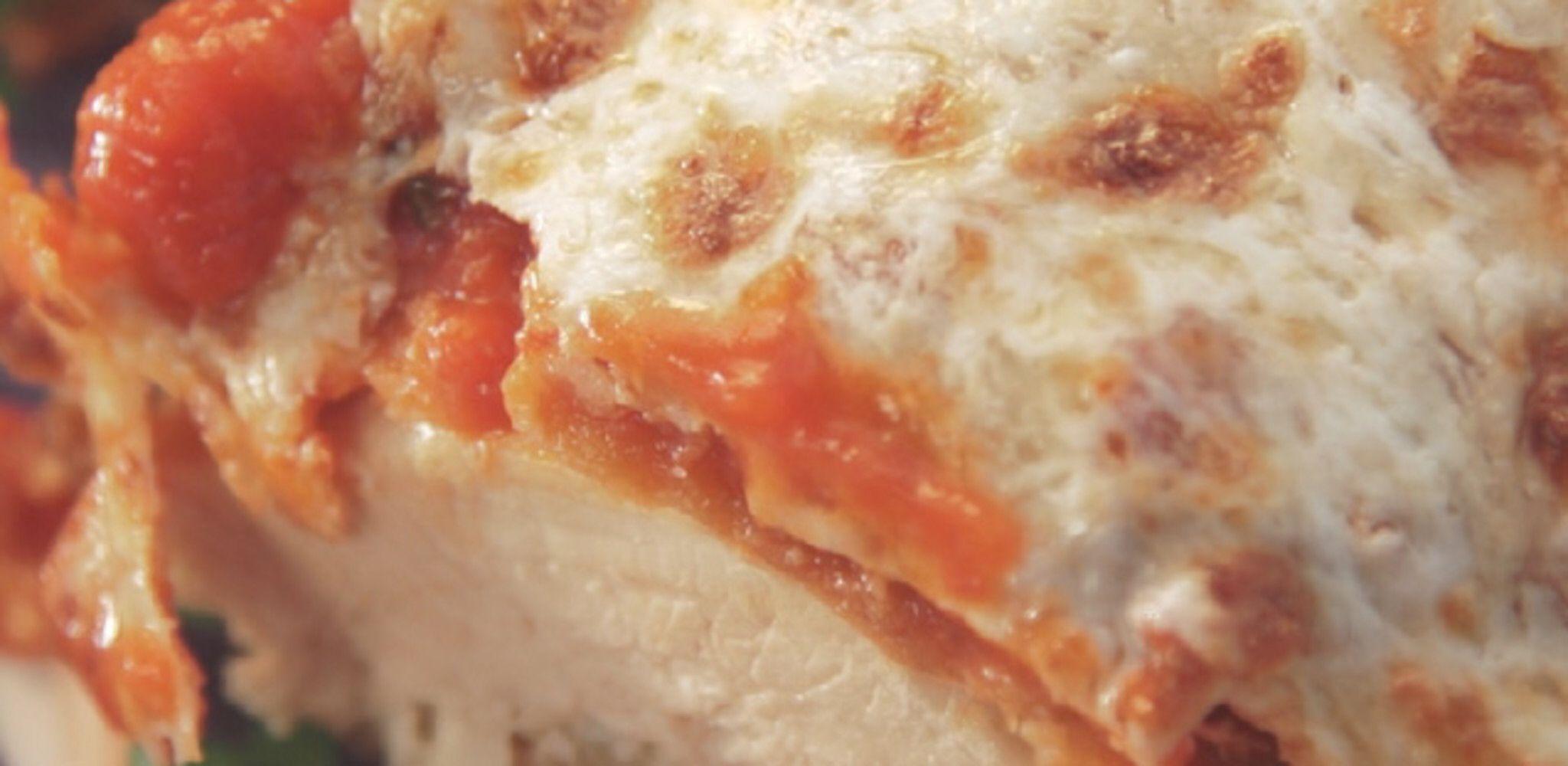Garlicky Chicken Parmesan Recipe Food network recipes