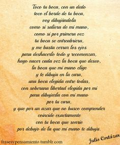 Image Result For Poemas De Amor Julio Cortazar Frases Pinterest