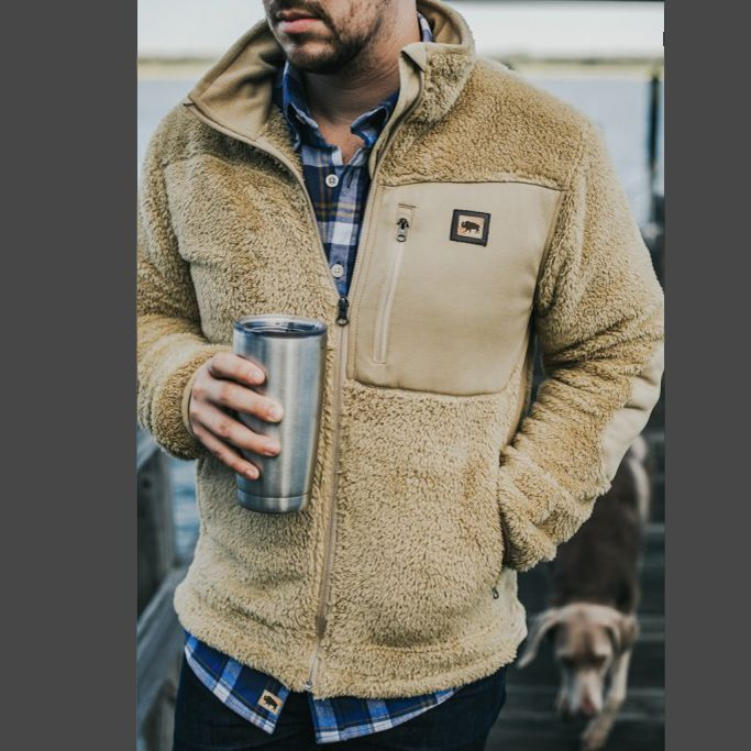 Buffalo Jackson Kodiak Jacket in 2019 | Mens fleece jacket