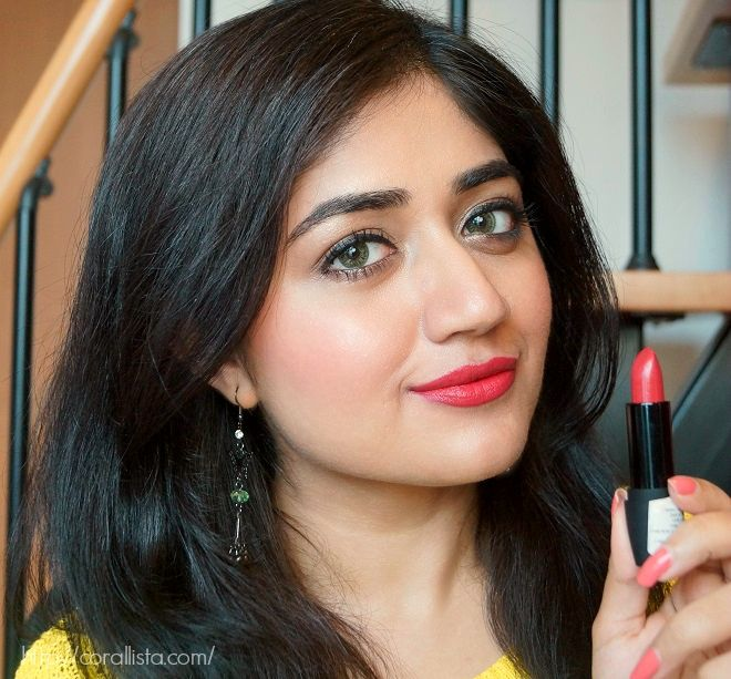 18f5edf32 Deborah Atomic Red Mat Lipstick #01   lip products/ reviews ...