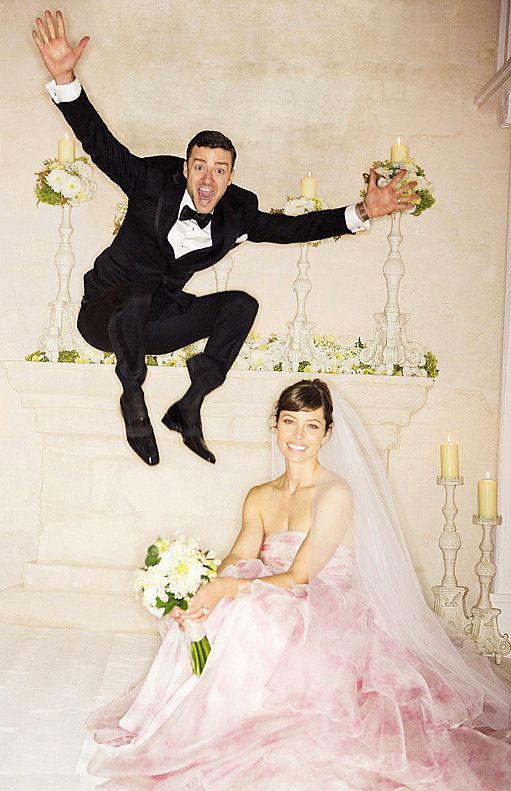 Justin Timberlake e Jessica Biel #famouswedding