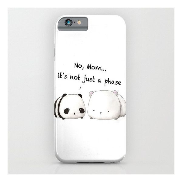 4dabdf805fb Emo Panda iPhone iPod Case ($35) ❤ liked on Polyvore featuring accessories  and tech accessories