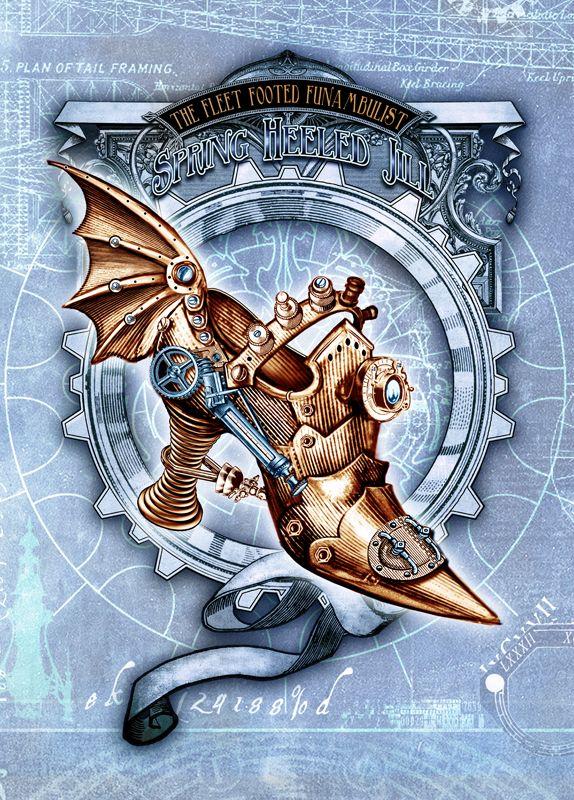 Alchemy Empire Artwork - The Fleet Footed Funambulist.