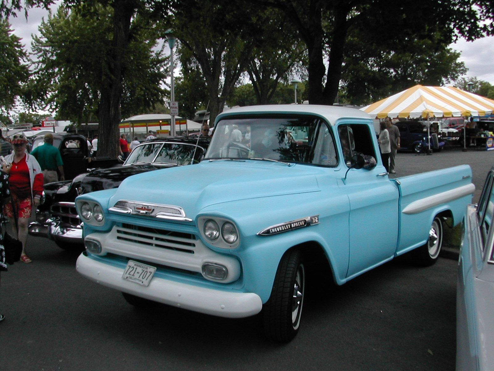 58 Or 59 Chevy Fleet Side Classic Trucks Vintage Trucks Chevy