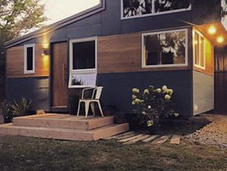 We build custom tiny homes on trailers right here in Central PA!
