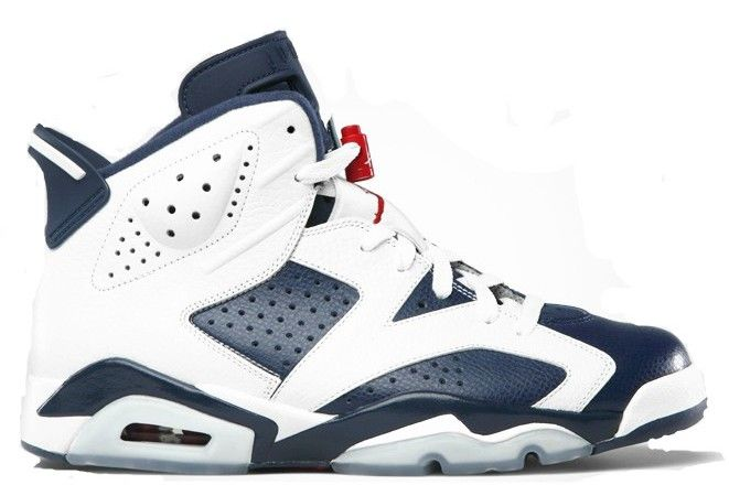 official photos 768c2 7ba9b Nike air jordan retro · Jordan 6 Olympic Leather is thick and plush (white  leather) . The only difference · Air Jordan Basketball ShoesAir ...
