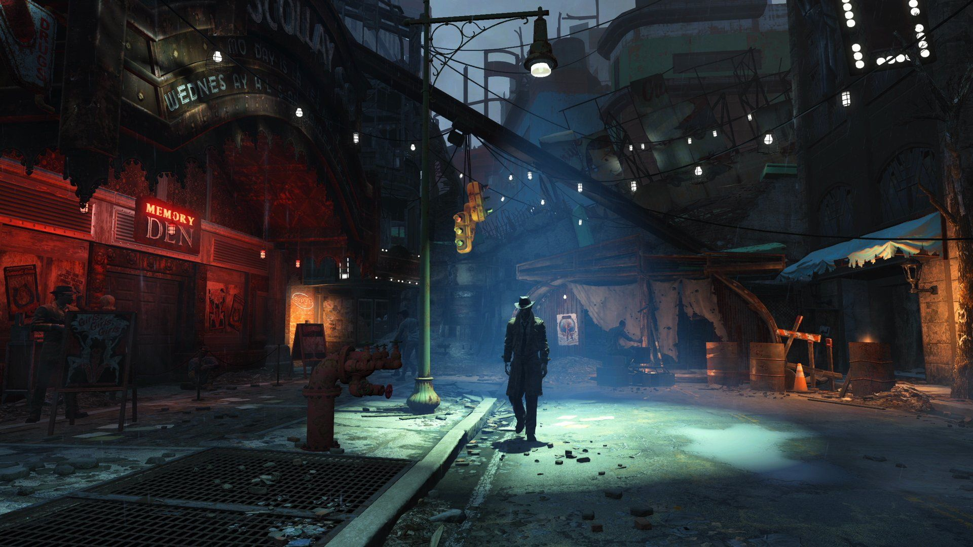 Fallout 4's Boston Is Dense with No Loading Screens (с