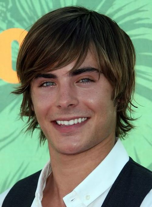 Zac Efron Long Hairstyle