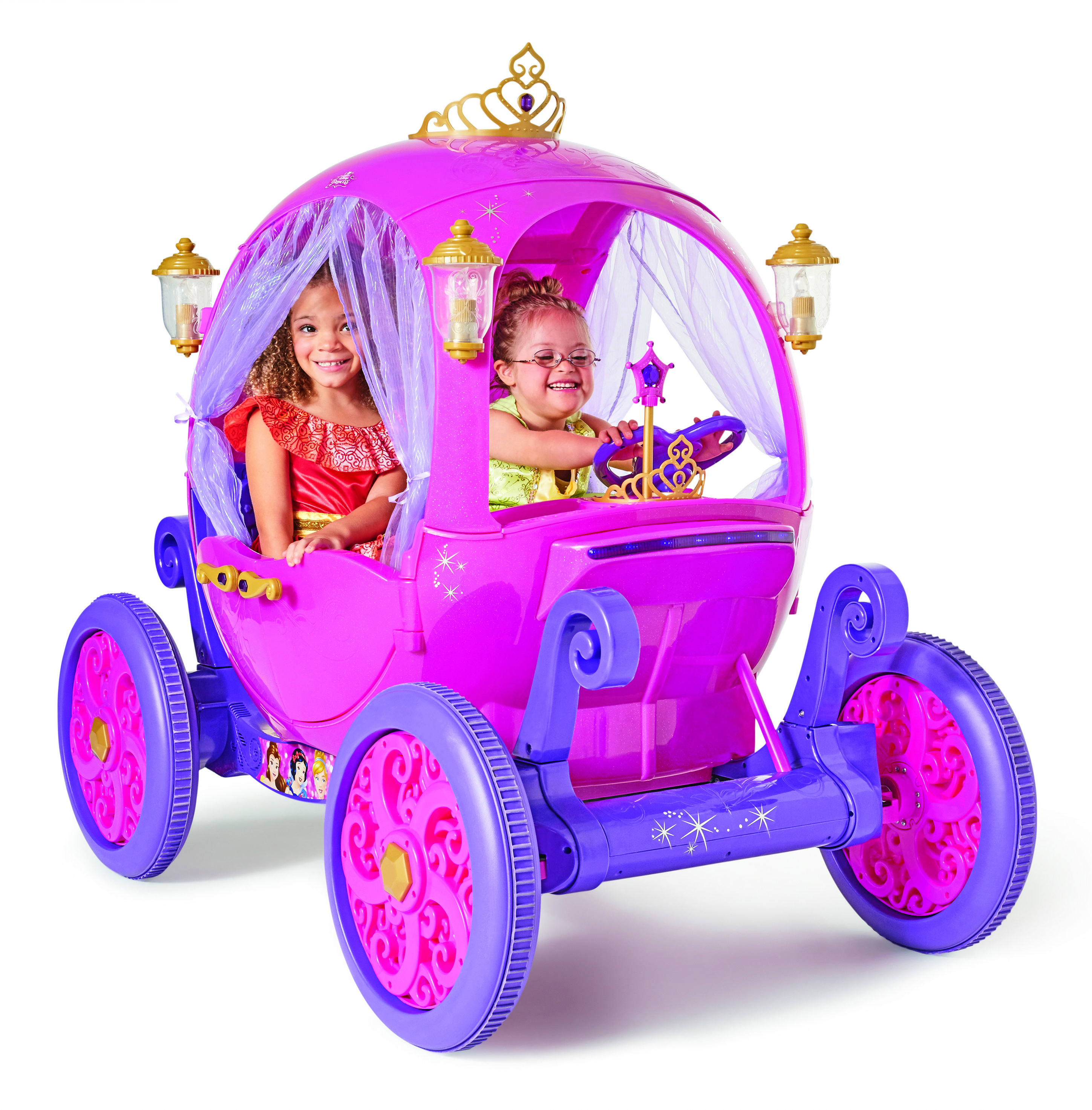 What better way to pretend you re a princess than with your own princess carriage