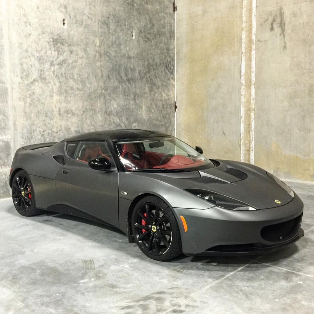 Matte Grey Lotus Evora Vancityexotics Dream Cars