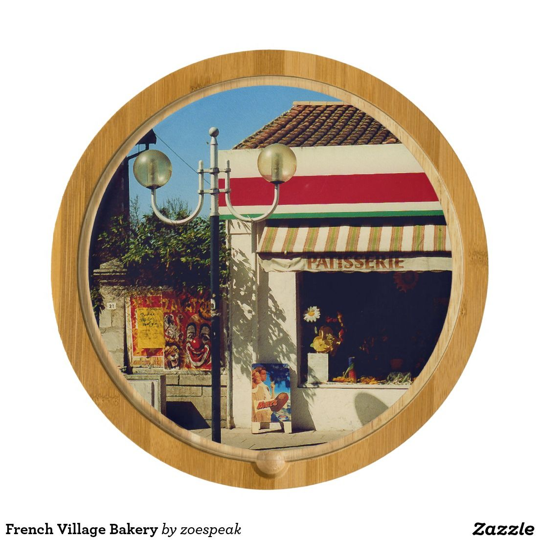 French Village Bakery Cheese Board from ZoeSPEAK
