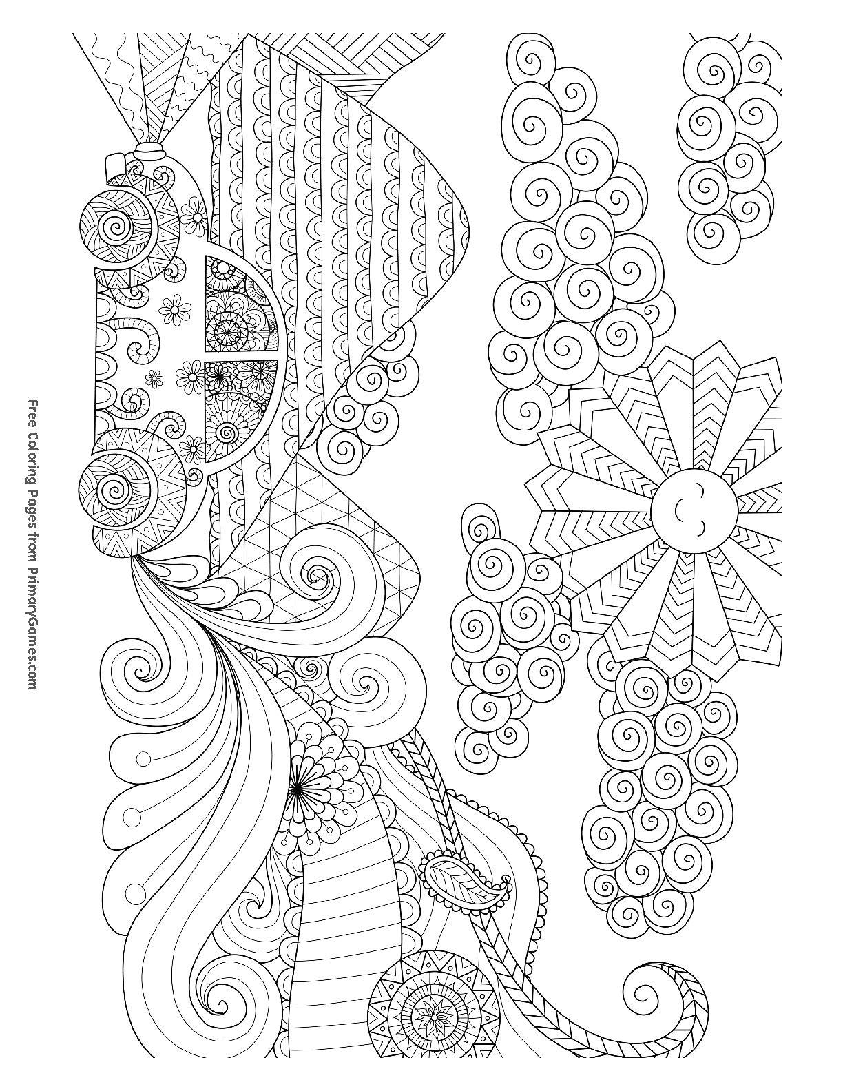 Pin de Катя en Раскраски антистресс | Pinterest