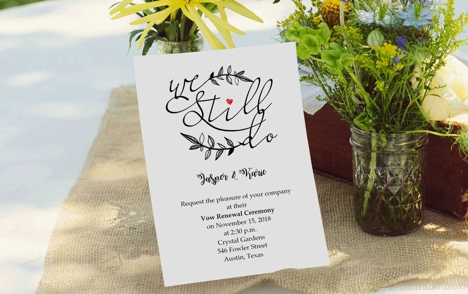 wedding renewal invitation ideas%0A Wedding Anniversary Party Invitation  Rustic Calligraphy Anniversary Invite   Minimalistic wedding Anniversary  DIY kraft Printable Editable    Anniversary