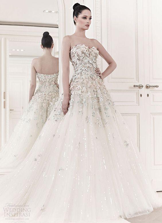 Zuhair murad wedding dresses with stunning lace details zuhair zuhair murad spring summer 2014 wedding dresses junglespirit Image collections
