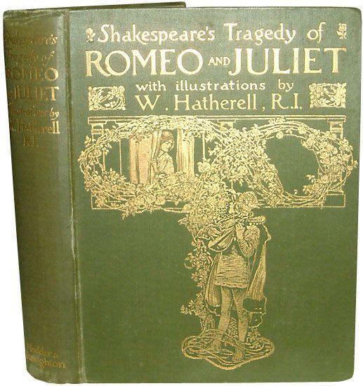 Romeo And Juliet Romeo And Juliet Rare Books Books