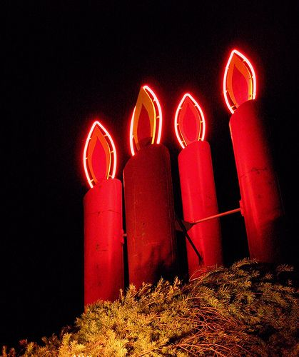 The advent candles