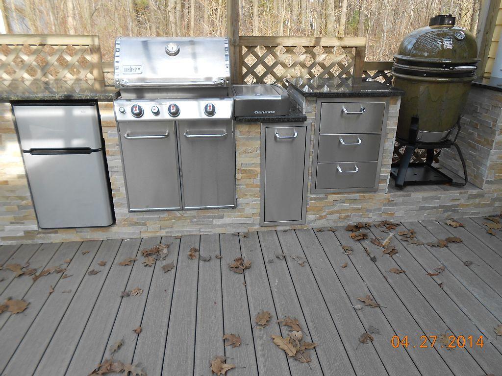 Weber Grill In Outdoor Küche Integrieren : Weber grill in outdoor küche integrieren outdoorküche gemauert