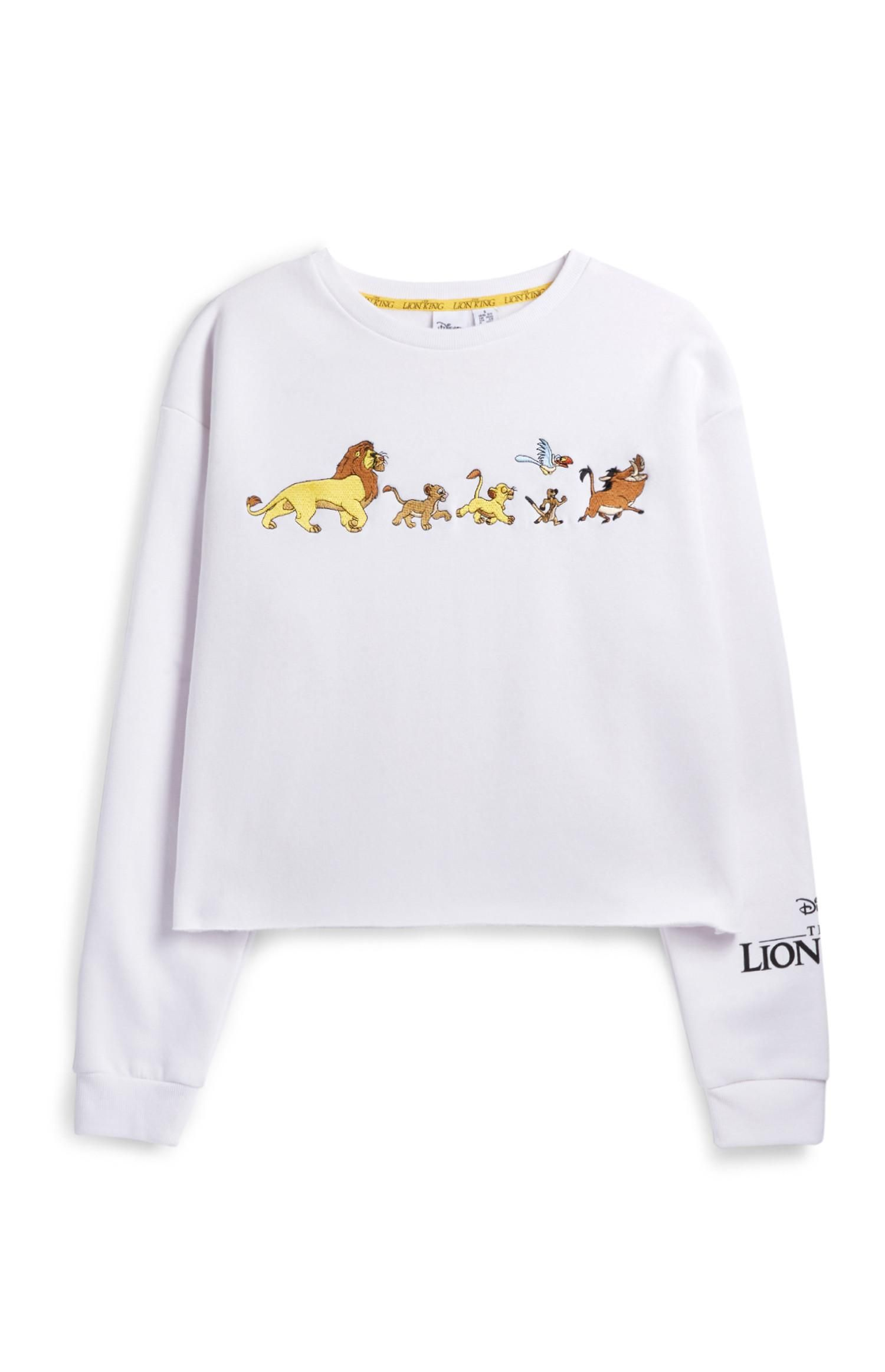 Primark Lion King Cropped Jumper Camisetas Da Disney Roupas Divertidas Roupas Da Disney [ 2324 x 1500 Pixel ]