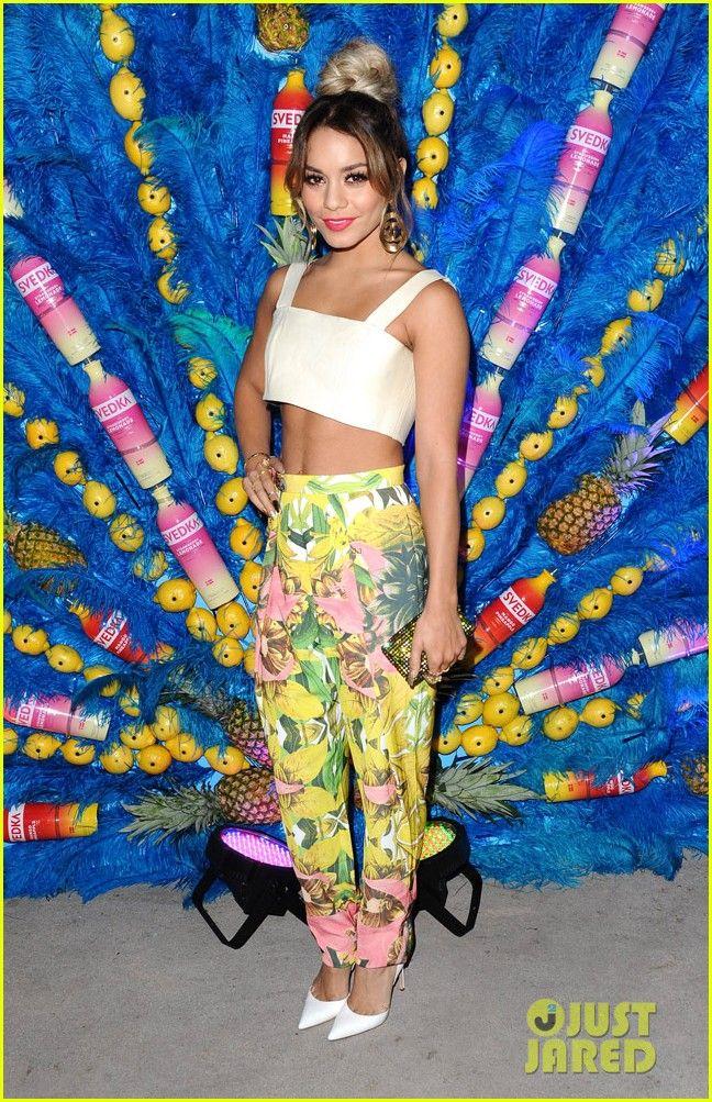 Vanessa Hudgens Shows Off Killer Abs at Svedka's Summer Samba | vanessa hudgens shows off her killer abs summer samba 20 - Photo