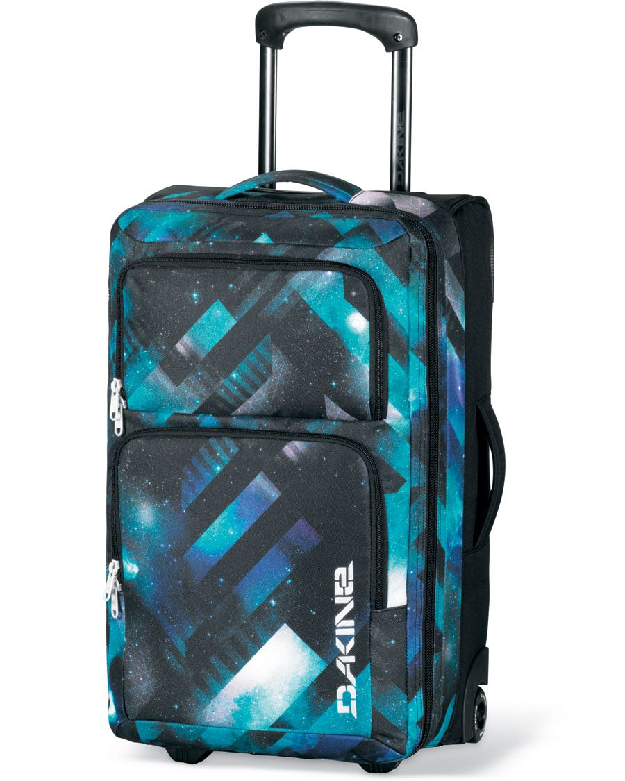 We love this bag from not only for its awesome design but a great lightweight roller carryon that can handle everything you need