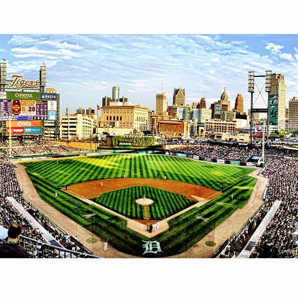 Comerica Park Detroit Michigan: Our Detroit Tigers (and Fans) Are Roaring At Comerica Park