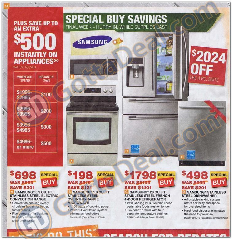 Home Depot Black Friday Ad Scan for 2013 Page 27 of 32