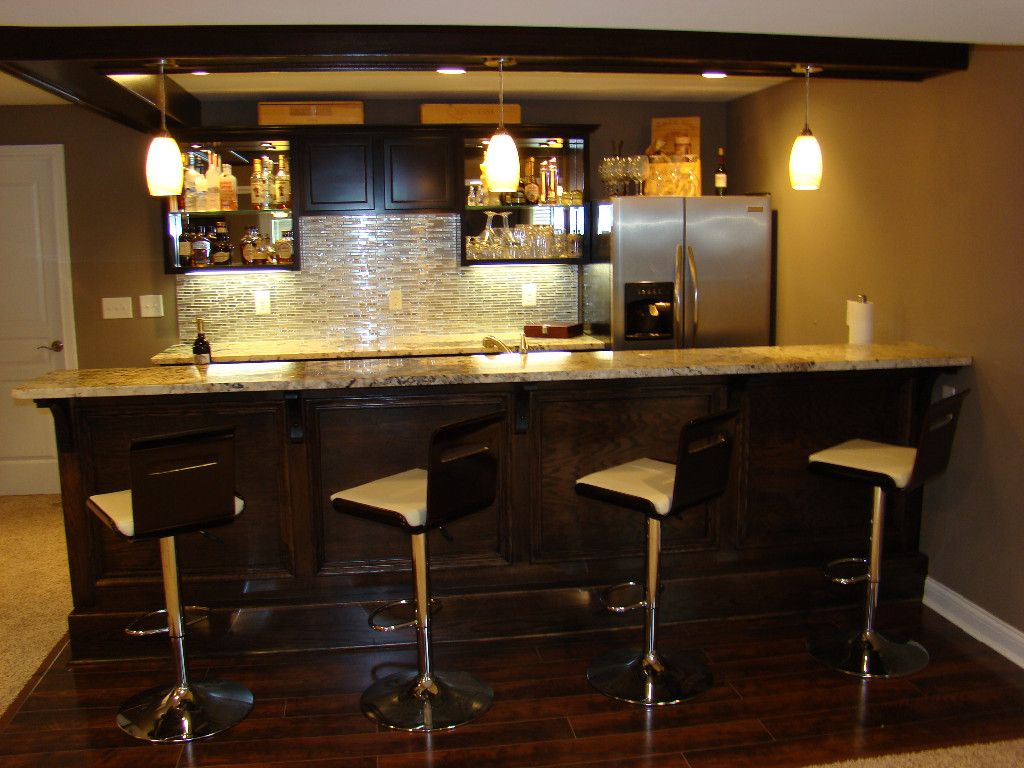 Love The Couch Small Basement Ideas Pictures Home Decor And Interior Decorating Ideas Basement Renovati Basement Bar Basement Bar Plans Basement Bar Designs