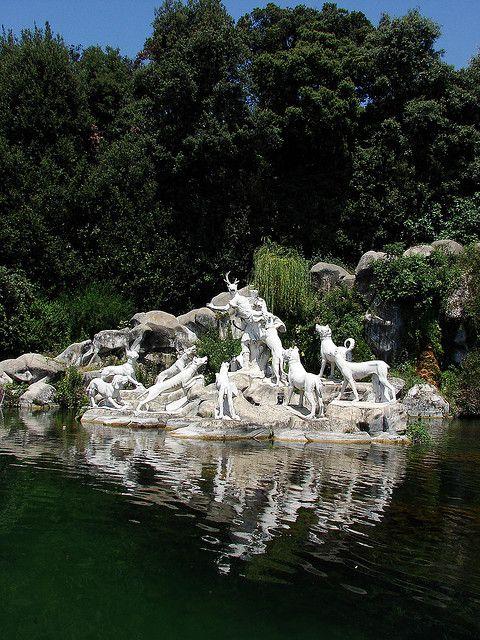 Diana and Actaeon - Caserta Royal Gardens - Campania, Italy
